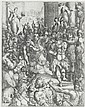 Jacques Bellange (French, born circa 1575-1638) The Martyrdom of Saint Lucy Etching and engraving, c.1630, a fine early impression, with the scratches visible, on laid, trimmed inside platemark, 452 x 360mm (17 7/8 x 13 1/8in)(SH) unframed, Jacques Bellange, Click for value