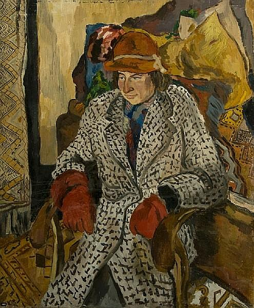 William Ian Brinkworth (1914-2000) Portrait of Denise Broadley