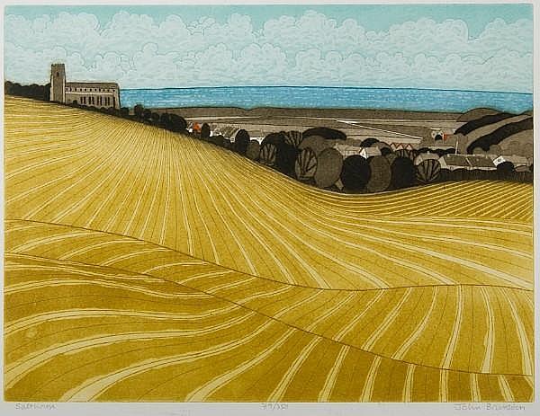 John Brunsdon (British, born 1933) 'Bale Oaks'