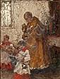 Wilhelm Blanke (German, 1873-1943) Church mass, Wilhelm (1873) Blanke, Click for value