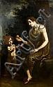 Francesco Curradi (Florence 1570-1661) Eve and her son, Francesco Curradi, Click for value