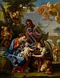 Giuseppe Bartolomeo Chiari (Rome 1654-1724) The Rest on the Flight into Egypt unframed, Giuseppe Bartolomeo Chiari, Click for value