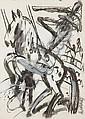 Karl Horst Hödicke (German, born 1938) Circus, K. H. Hodicke, Click for value