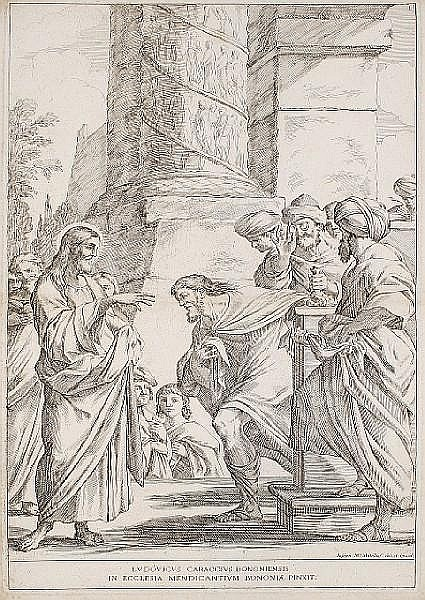 Giuseppe Maria Mitelli (Italian, 1634-1718) Scenes from the life of Christ and the Virgin A collection of ten etchings, c1679, on laid, 510 x 330mm (20 1/16 x 13in)(10)(unframed)