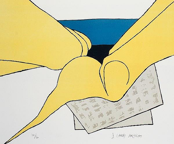 Jose Gardy Artigas (French, born 1938) Untitled Three lithographs in colours, each on wove, signed in pencil, numbered variously, various sizes (3)(unframed)