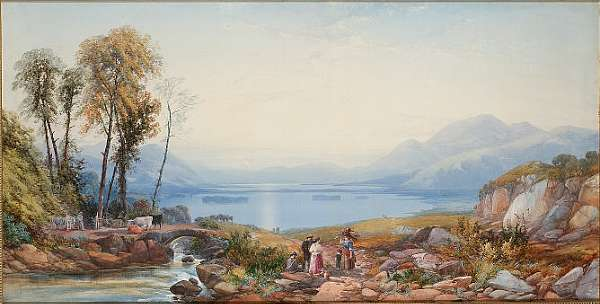James Burrell Smith (British, 1822-1897)