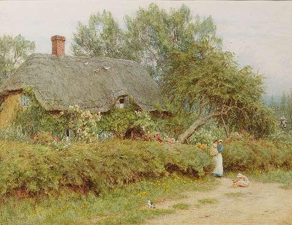 Helen Allingham R.W.S. (British, 1848-1929)