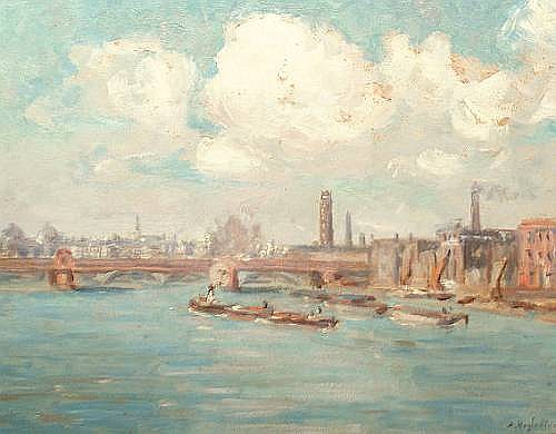 Alfred Hazledine (Belgian, 1876-1954)