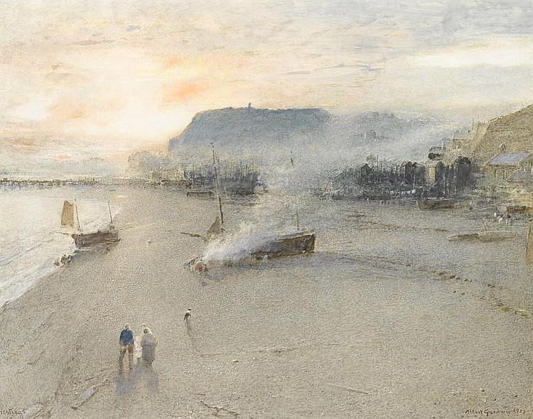 Albert Goodwin, RWS (British, 1845-1932) Hastings