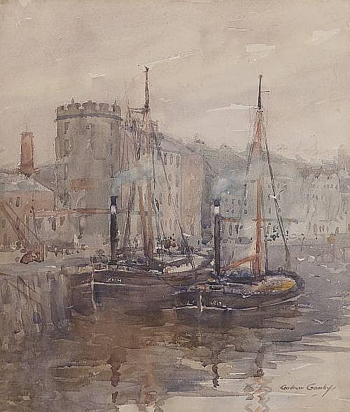 Andrew Archer Gamley, RSW (British, 1869-1949) 40 x 34cm