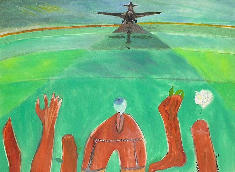 Breyten Breytenbach (South African, born 1939) 'Common or Garden Peace'