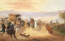 Johann Moritz Rugendas ; oil on canvas ; 60 x 80 cm ; signed lower left 'rugendas'