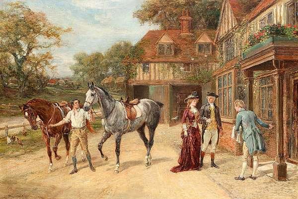 Heywood Hardy (British 1842-1933)