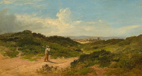 James M. Robert Greenlees (British, 1820-1894) 'Homewards'