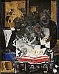 Dimitris Mytaras (Greek, born 1934) Still life with figure 170 x 135 cm., Dimitrios Mytaras, Click for value