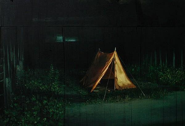 Kaye Donachie (British, 1970) 'Tent', 1999