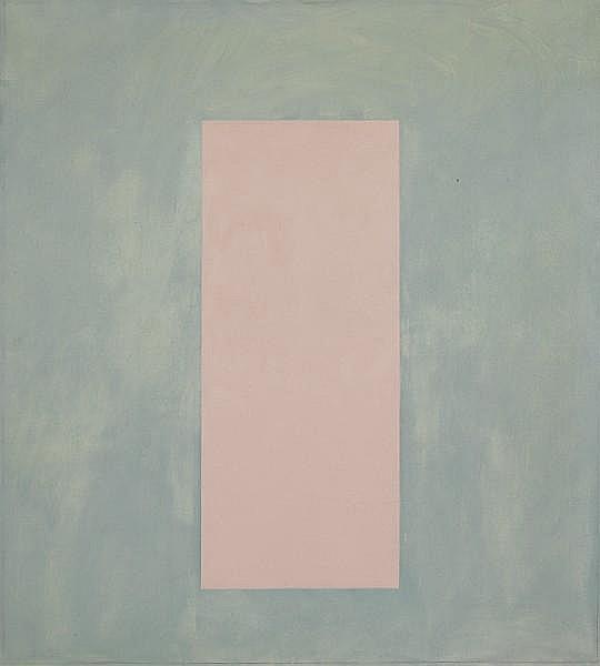 Alison Turnbull (British, born 1956) 'Fever Chart', 1989