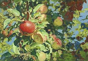 Simon Kozhin  (Russian, born 1979)  The apples