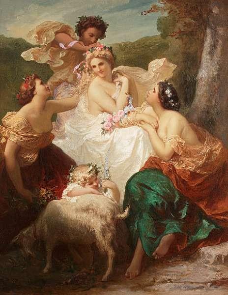 Henri Pierre Picou (French 1824-1895)