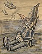 John Marsden Dronsfield (South African, 1900-1951) Dreaming clown, John Dronsfield, Click for value