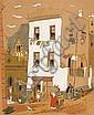 Leng Dixon (South African, 1916-1968) Cape Malay Quarter, Leng Dixon, Click for value