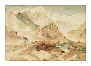 Ong Kim Seng (Singapore, b. 1945) Himalayan