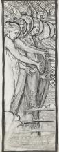 Phoebe Anna Traquair HRSA (1852-1936) Study for The Souls of the Blest 35.5 x 25.5 cm. (14 x 10 1/16 in.) unframed