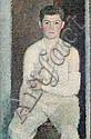 Vladimir Weisberg (Russian, 1924-1985) 'Portrait of Guinsberg in a plaster-cast', Vladimir Grigor'evič Vejsberg, Click for value