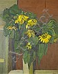 Peter Coker R.A. (British, 1926-2004) Sunflowers 121 x 97 cm. (47 3/4 x 38 1/4 in.), Peter Coker, Click for value