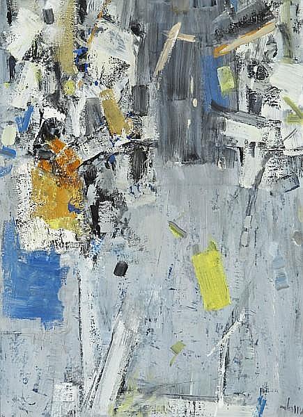 George Edmund Alleyn (Canadian, 1931-2004) Abstract