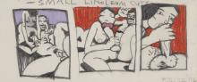 KEN PRICE (1935-2012) Untitled (small linoleum cuts), 1976