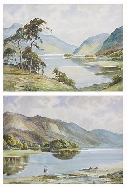 Arthur D. Bell (British, 1884-1966) 24 x 35cm.