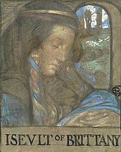 Eleanor Fortescue-Brickdale RWS (British, 1872-1945) Iseult of Britanny
