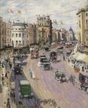 Thomas Austen Brown, ARSA, RSW, RI (British, 1857-1924) Regent Street