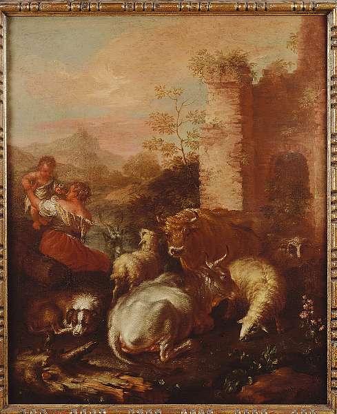 Abate Giovanni Agostino Cassana (Genoa circa 1658-1720)