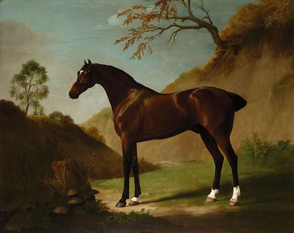TO BE SOLD BY ORDER OF THE EXECUTORS OF A DECEASED'S ESTATE George Stubbs (Liverpool 1724-1806 London)