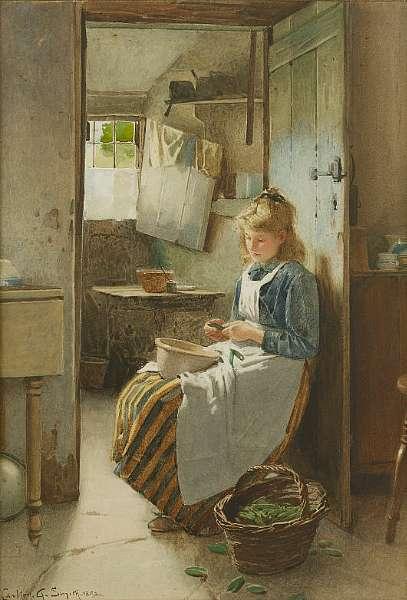 Carlton Alfred Smith R.I. (British, 1853-1946)