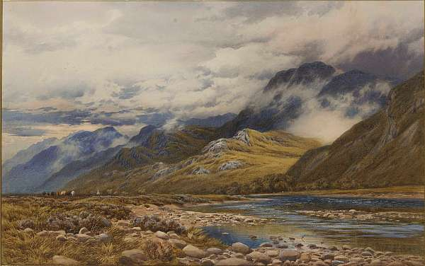 Augustus Walford Weedon R.I. R.B.A. (British, 1838-1908)