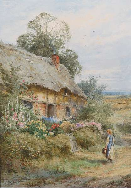 Henry John Sylvester Stannard R.B.A., R.S.A. (British, 1870-1951)