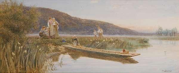 Thomas James Lloyd R.W.S. (British, 1849-1910)
