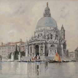 Hercules Brabazon Brabazon N.E.A.C., (British, 1821-1906) Santa Maria della Salute, Venice