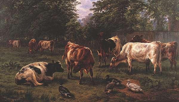 Charles Jones RCA (1836-1892) British