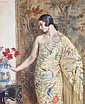 George Owen Wynne Apperley (British, 1884-1960) Lady in oriental dress, George Owen Wynne Apperley, Click for value