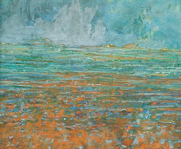 Thomas Denny (British, born 1956) Irish Landscape