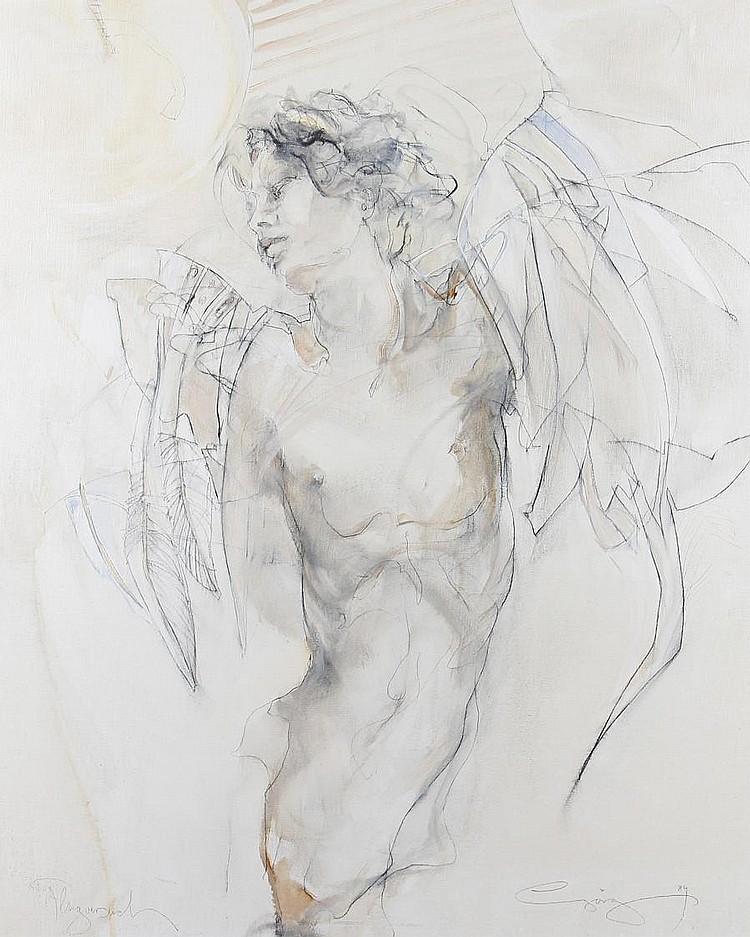Jürgen Gorg (German, born 1951) Figure study