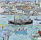 Linda Weir (British, born 1951) 'Protective headland, St Ives', Linda Weir, Click for value