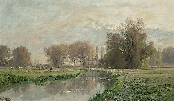 Alexandre René Veron (French 1826-1897)