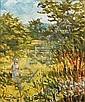 Alan Cotton (British, born 1936) Rachel in summer meadows, Alan Cotton, Click for value