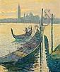 Alan Cotton (British, born 1936) Venice - Evening Light, San Giorgio Maggiore, Alan Cotton, Click for value