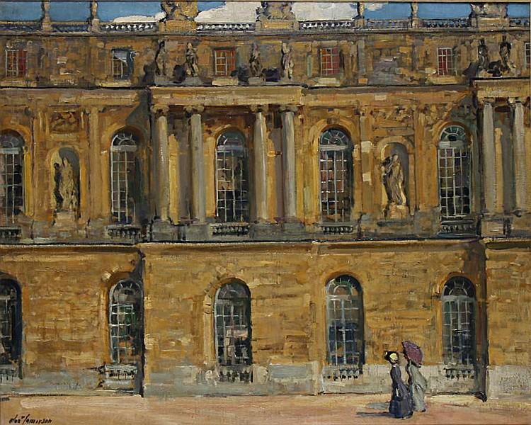 Alexander Jamieson, R.O.I. (British, 1873-1937) Palais de Versailles